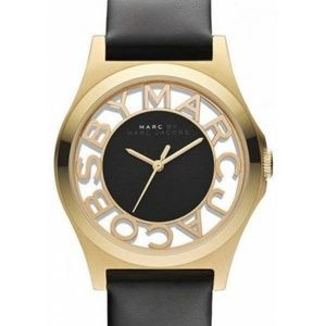Marc Jacobs Henry Black Gold MBM1246 watch